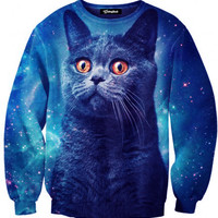 Space Cat Crewneck