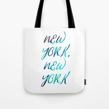 New York, New York Tote Bag by g-man