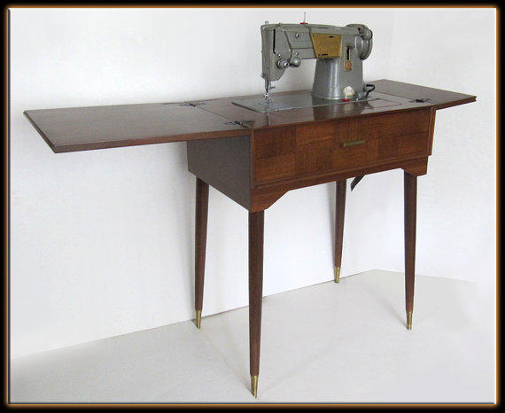 40s Singer 13408M Heavy Duty Sewing From MilosModern On Etsy Beauteous 13608m Singer Sewing Machine