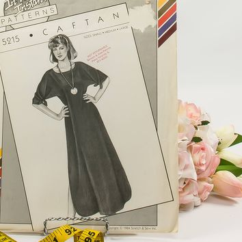 Caftan  - Pattern 5215  - Vintage Sewing Pattern  - Vintage Stretch & Sew Pattern  - 1980 Pattern  - Ann Person