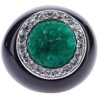 Kenneth Jay Lane Vintage Cocktail Ring