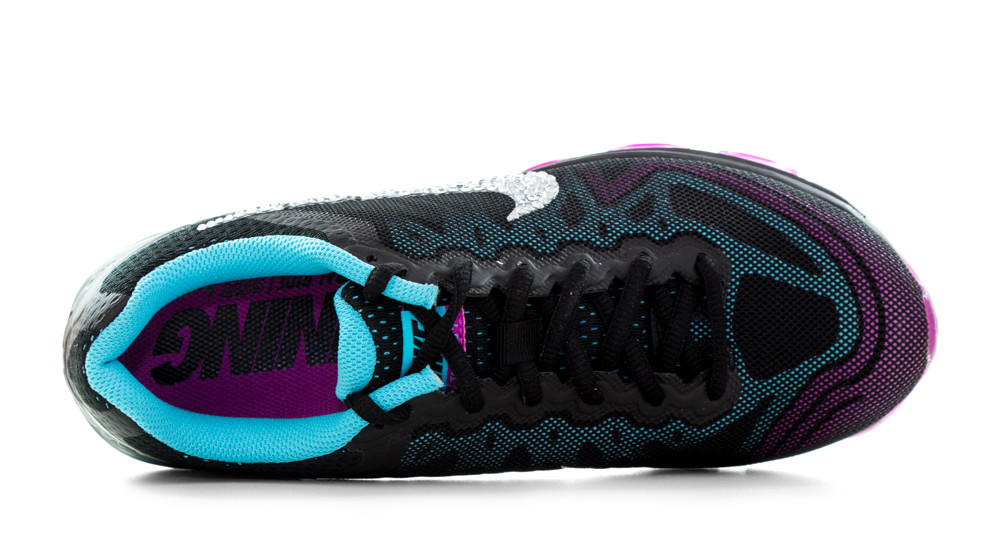 Nike Air Max Tailwind - Crystallized Swarovski Swoosh - Black Purple Teal d80465d78235