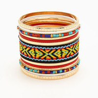 Chevron Bangle Set - LoveCulture