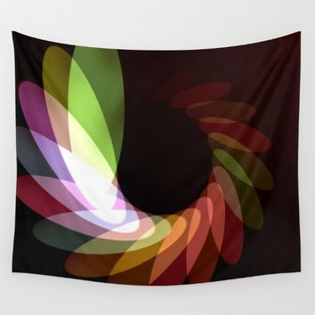 Elliptical Motion Wall Tapestry by Eric Rasmussen