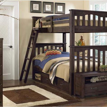 Nielsen Twin over Twin Bunk Bed