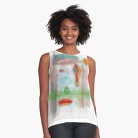 """Prom"" Contrast Tank by BillOwenArt 