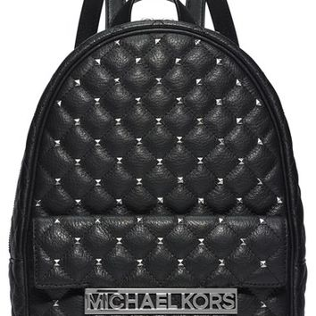 MICHAEL Michael Kors 'Medium Kim' Studded Leather Backpack