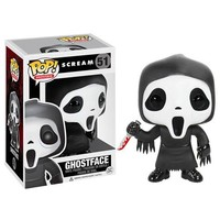 Scream Ghostface Pop! Vinyl Figure - Funko - Horror: Scream - Pop! Vinyl Figures at Entertainment Earth