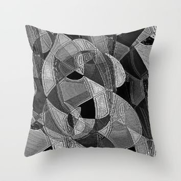 Incognito Throw Pillow by David Lee