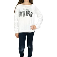 Dirtee Hollywood I Love Weird Tee | Mod Angel