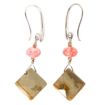 K.D. Geo Stone Earrings