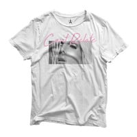 White Marquee Tee - Large
