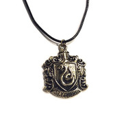 H.P Sly Snake School Crest Necklace
