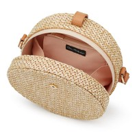 Circle Straw Cross Body Bag - View All - New In