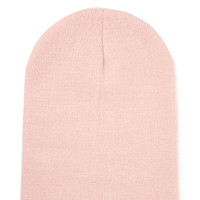 FOREVER 21 Classic Ribbed Knit Beanie