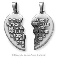 """Watch Over Thee"" Prayer Pendant from James Avery"