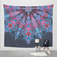 Escapism Wall Tapestry by Micklyn