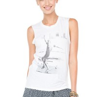 Brandy ♥ Melville |  Raisa Skater Girl Tank - Just In