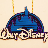 The Disney Castle necklace