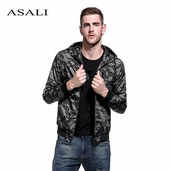 Camouflage Coat Men Autumn Military Hoodies Men's Casual Jacket Windbreaker Coat Male Outwear Waterproof