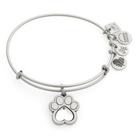Alex and Ani Prints of Love Adjustable Wire Bangle   Nordstrom