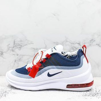 Nike Air Max Axis Navy Red Black White Running Shoes