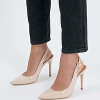GOLDY Slingback Court Shoes