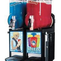 Cab Two Bowl Slush Puppie Machine Granita Smoothie Icee