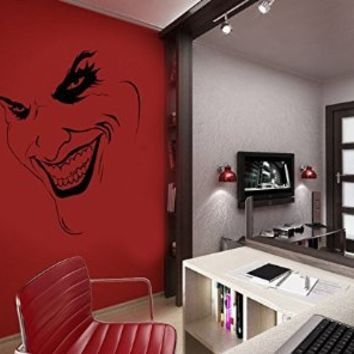 Best batman wall decal products on wanelo for Harley quinn bedroom ideas