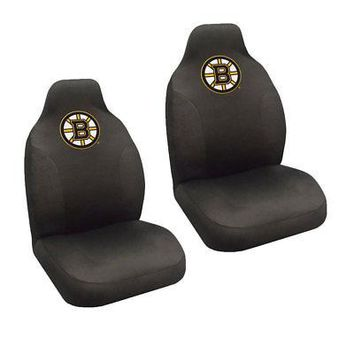 Licensed Official NHL Pick Your Teams Car Truck 2 Front Bucket Seat Covers Set - Official Licensed