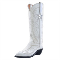 Dallas Cowboys Lucchese Womens Official Cheerleader Boot - Width B | Dallas Cowboys Clothing | Dallas Cowboys Store - Dallas Cowboys Pro Shop