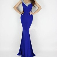 HOT Formal Evening Long Gown Party Prom Ball Bridesmaid Dresses Sequins Mermaid