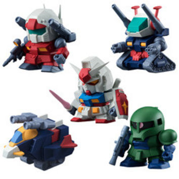 BUILD MODEL: GUNDAM - VOLUME 3 MINI FIGURE - 10CT BMB DISPLAY