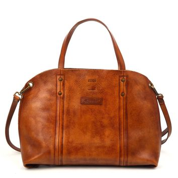 Forest Hill Leather Tote
