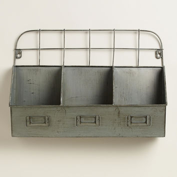 Metal Thomas Cubby Wall Storage - World Market