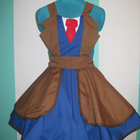 Doctor Who Tenth Doctor David Tennant Cosplay Apron Pinafore