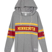 University of Minnesota Varsity Pullover Hoodie - PINK - Victoria's Secret