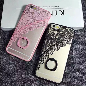 Cute Lace Case for iPhone