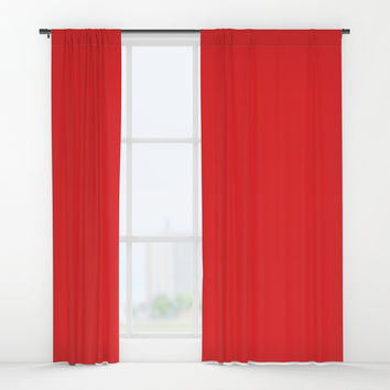 Youtube Red Window Curtains by spaceandlines