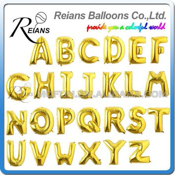 40 inch Big Letter A to Z Alphabet Large Foil Balloons Letters Birthday Party Wedding Thanksgiving Decoration Party Supplies