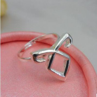 New Hot Movies Vintage Power Rune Joint Adjustable Rings The Mortal Instruments City of Bones Logo Women Rings