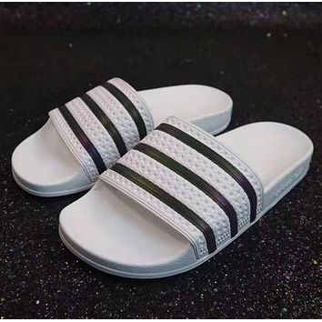 Adidas Fashionable Casual Slippers For Men And Women-6