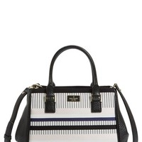 kate spade new york 'prospect place - stripe maddie' leather tote | Nordstrom