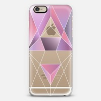 Geometric pink iPhone 6 case by Marta Olga Klara | Casetify