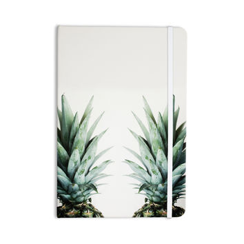 "Chelsea Victoria ""Two Pineapples"" Green Gold Everything Notebook"