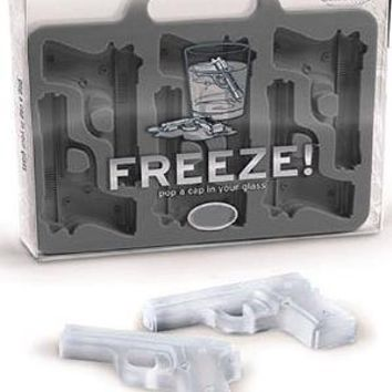 FREEZE! Guns Ice Cube Tray