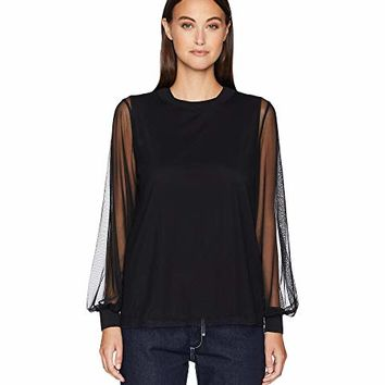 Sportmax Alex Jersey Long Sleeve Top