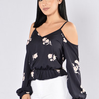 Yessi Top - Navy
