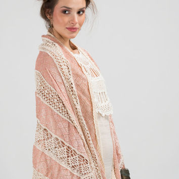 Rose triangle shawl with velvet and hand crocheted lace trims,Wedding shawl,Romantic shawl,Lace shawl,Crocheted shawl,Shawl wrap,Knit shawl