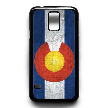 Colorado Flag Samsung Galaxy S4 Galaxy S5 Galaxy S6 Galaxy S6 Edge Galaxy S6 Edge Plus Galaxy S7|S7 Edge Case
